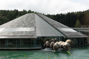The Red Bull Headquarters just outside Salzburg. Idyllic Countryside? Pfft...