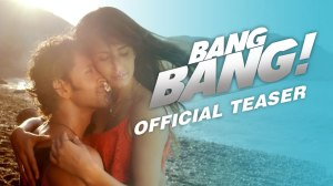 The movie poster for Bang Bang that I borrowed from the net.